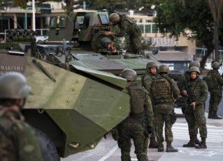 Polícia e Forças Armadas fazem megaoperação. Foto: Fotos Públicas