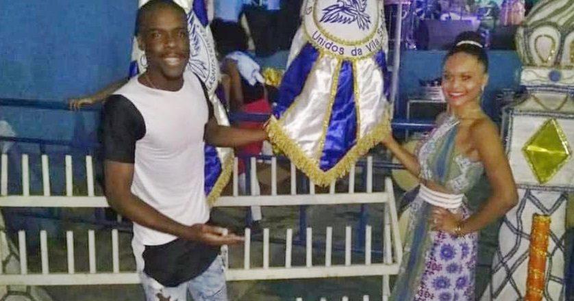 Gerson Anjos e Tamires Ribeiro formam o segundo casal da Vila Santa Tereza. Foto: Divulgação