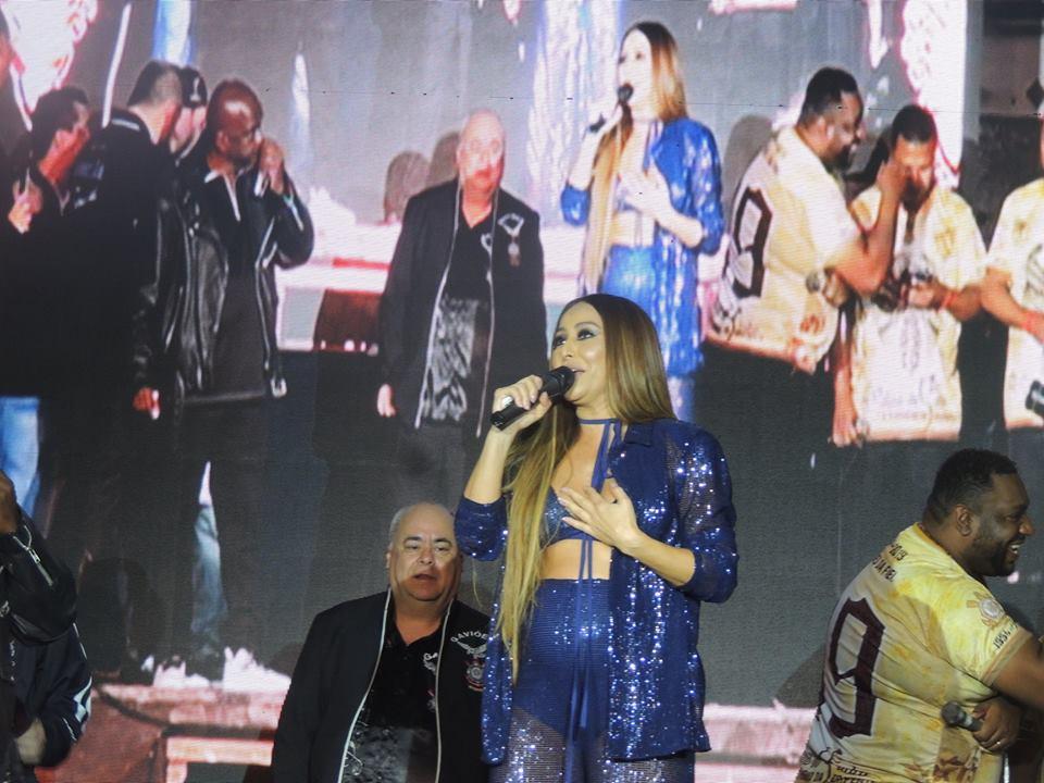 Em noite de apresentação de fantasias, Sabrina Sato é coroada rainha de bateria da Gaviões da Fiel. Foto: Assessoria de Imprensa - Gaviões da Fiel