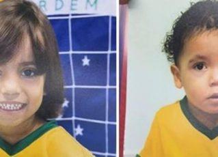 Crianças são encontradas mortas. Foto: Reprodução/Arquivo Pessoal