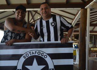 Nova escola de samba faz referência ao clube Botafogo. Foto: Divulgação