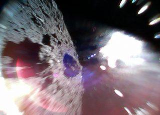 Asteroide Ryugu. Foto: Reprodução/Twitter