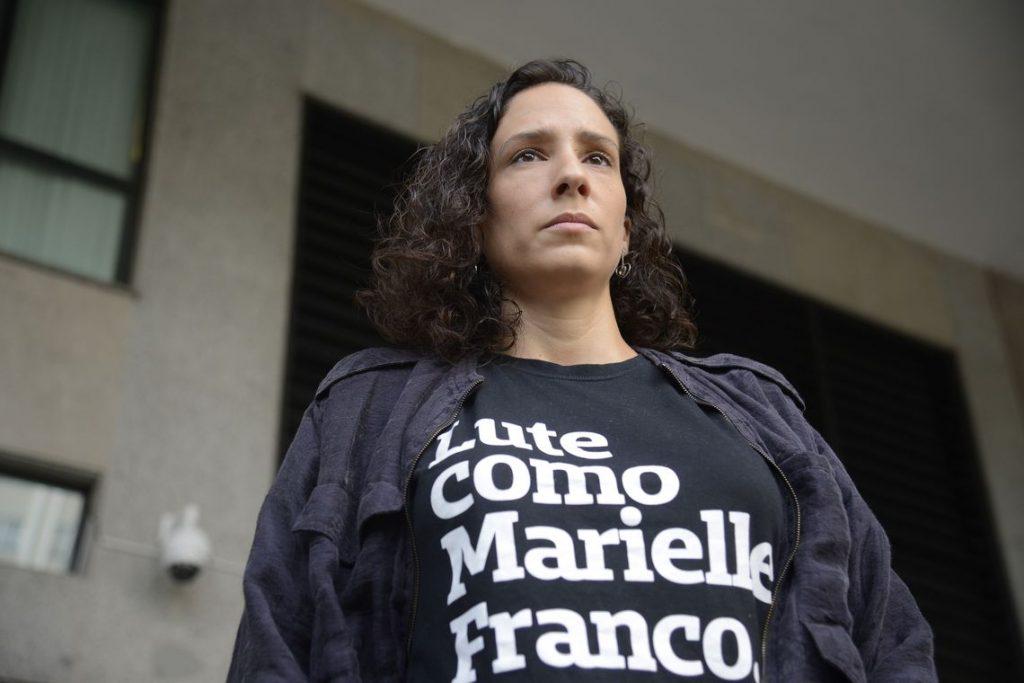 Mônica Benício, mulher de vereadora Marielle Franco. Foto: Tânia Rêgo/Agência Brasil