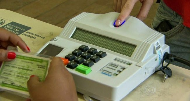 Biometria. Foto: Reprodução de Internet