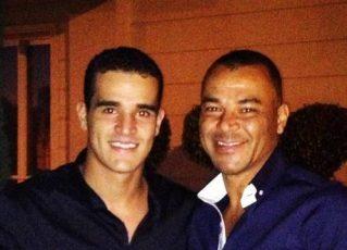 Wellington de Moraes e Cafu. Foto: Reprodução Facebook