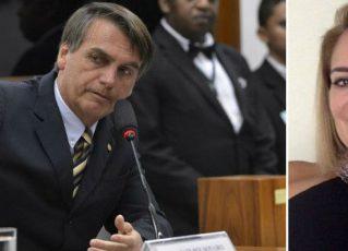 Jair Bolsonaro e Ana Cristina Valle. Foto: Reprodução de Internet
