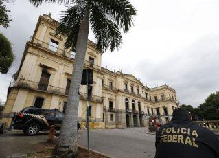 Museu Nacional do Rio de Janeiro continua interditado. Foto : Tânia Rêgo/Agência Brasil