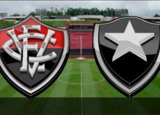 Vitória x Botafogo. Foto: Divulgação