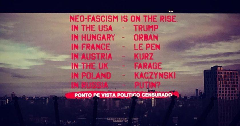 """Nome de Bolsonaro é """"censurado"""" em show de Roger Waters. Foto: Reprodução/Instagram"""
