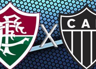 Fluminense x Atlético-MG. Foto: Divulgação