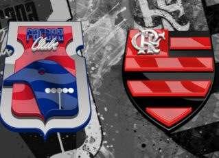 Paraná x Flamengo. Foto: Divulgação