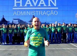 Luciano Hang, dono da Havan. Foto: Reprodução