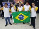 Campeões brasileiros da 10ª Olimpíada Latino-Americana de Astronomia e Astronáutica. Foto: Divulgação