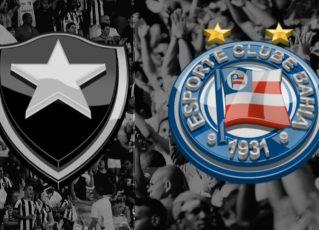 Botafogo x Bahia. Foto: Divulgação
