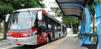 Ônibus em São Paulo. Foto: Divulgação