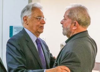 Lula e Fernando Henrique. Foto: Ricardo Stuckert