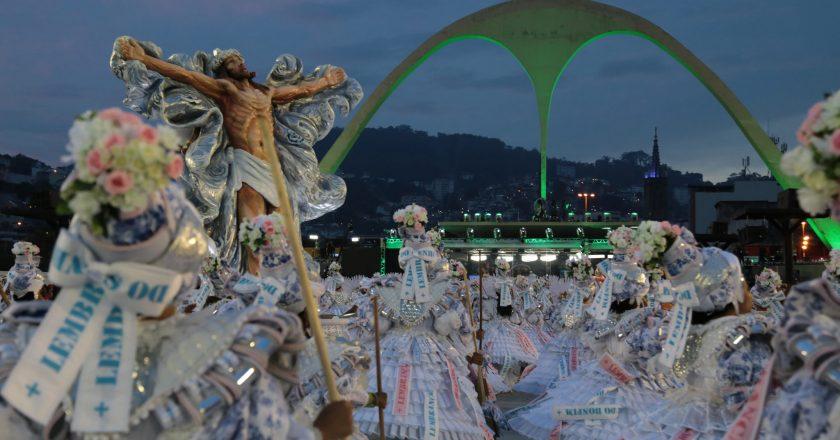 Desfile da Mangueira. Foto: Ronaldo Nina/Riotur