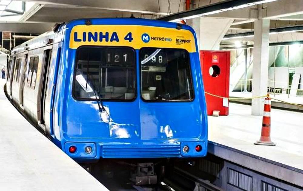 MetroRio. Foto Divulgação