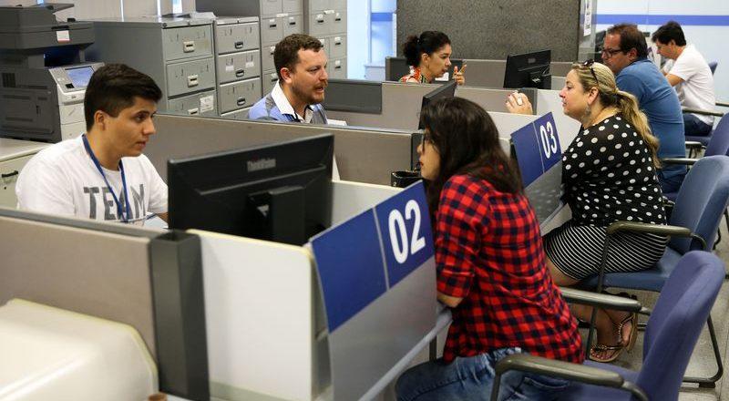 Agências da Caixa Econômica. Foto: Marcelo Camargo/Agência Brasil
