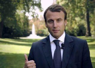 Macron vence eleições na França. Foto: Agência Brasil