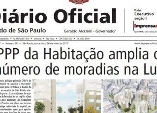 Diário Oficial. Foto: Reprodução de Internet