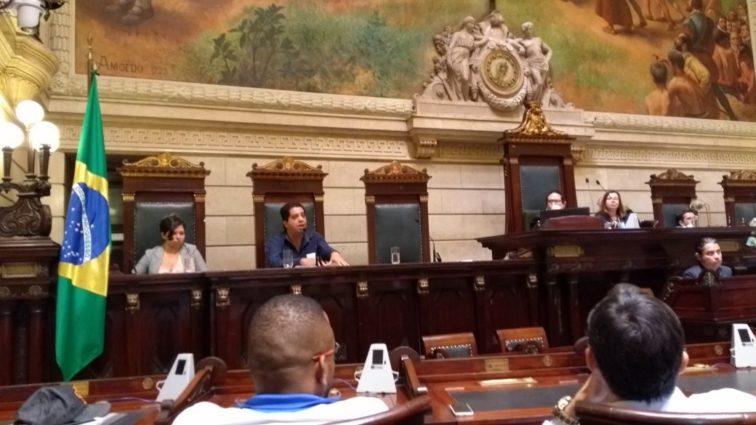 Audiência Pública. Foto: Rádio Arquibancada