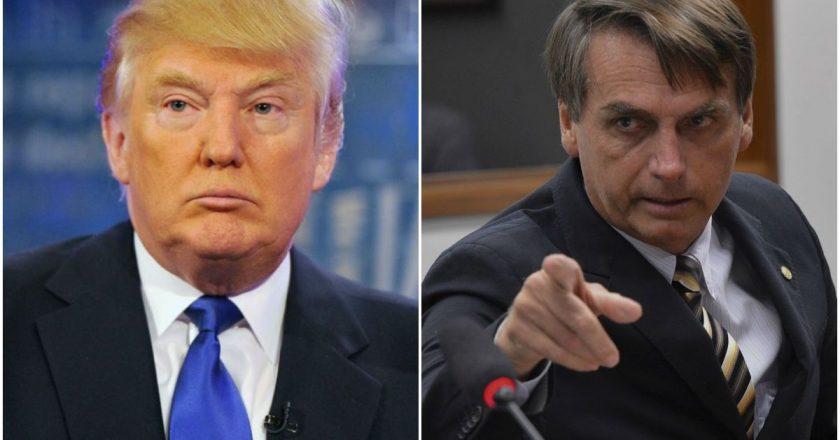 Trump e Bolsonaro. Foto: Reprodução de Internet