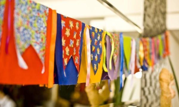 Bandeirinhas. Foto: Divulgação