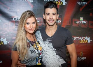 Andressa Suita e Gusttavo Lima. Foto: Divulgação