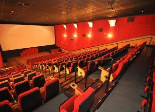 Sala de cinema. Foto: Divulgação