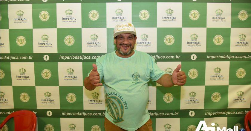 Presidente Tê - Império da Tijuca. Foto: Antônio Mello