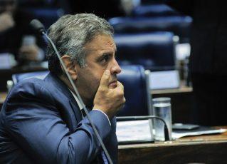 Aécio Neves. Foto: Agência Senado