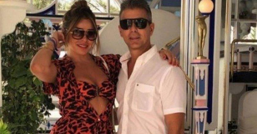Fabíola de Oliveira e Rogério de Andrade. Foto: Reprodução/Instagram
