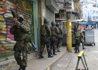 Militares na Rocinha. Foto: Agência Brasil