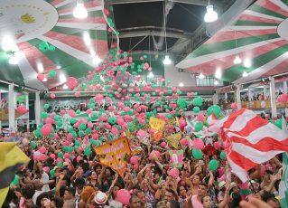 Final de samba da Mangueira 2018. Foto: Henrique Matos