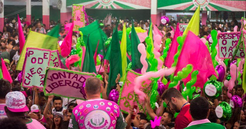 Final de samba da Mangueira 2018. Foto: Adriano Rodrigues