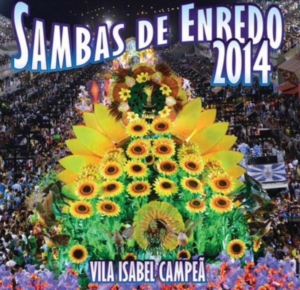 cd sambas de enredo 2013 sp