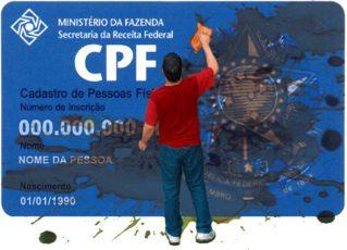 CPF. Foto: Ilustração