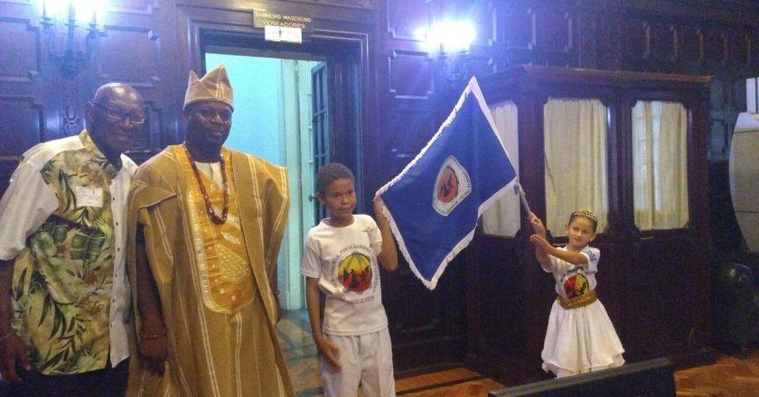Conferência sobre a conexão cultural e histórica entre Brasil e Nigéria. Foto: Aida Lobo