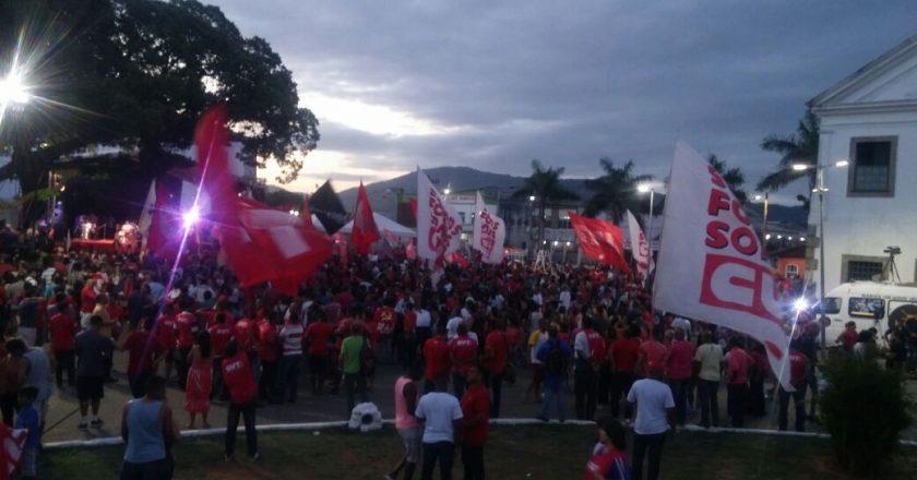 Lula em Maricá. Foto: Reprodução