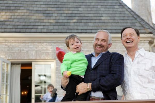 Andrew Solomon e sua família. Foto: Reprodução
