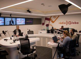 Estúdio da Rádio Globo. Foto: Reprodução de Internet