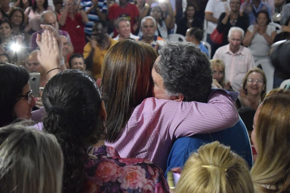Rosinha e Anthony Garotinho. Foto: Reprodução/Facebook