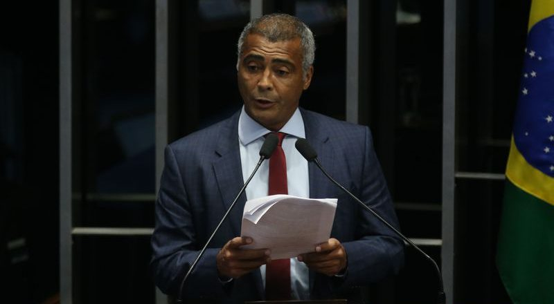 Romário. Foto: Fabio Rodrigues Pozzebom/Agência Brasil