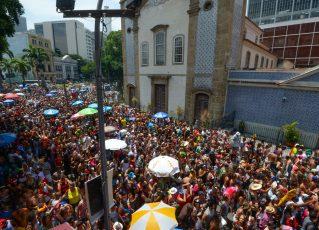 Carnaval de Rua no Rio. Foto: Alexandre Vidal/Riotur