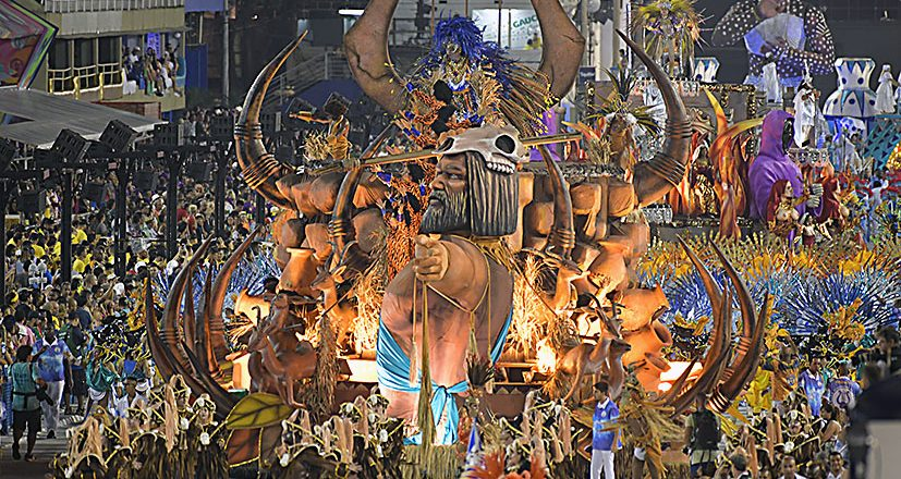 Desfile Acadêmicos do Sossego. Foto: Henrique Matos