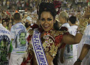 Raíssa de Oliveira, Rainha de bateria da Beija-Flor, Foto: Henrique Matos