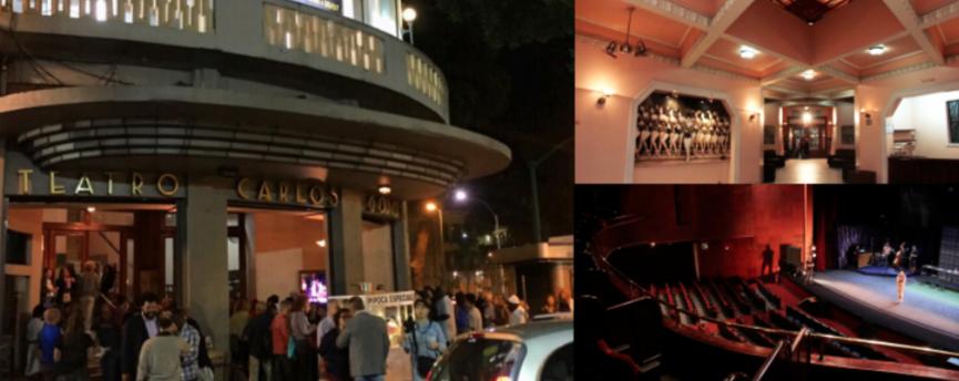 Teatro Carlos Gomes. Fotos: Divulgação