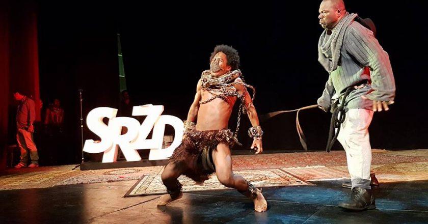 Comissão de Frente da Paraíso do Tuiuti no Prêmio SRzd Carnaval 2018. Foto: SRzd/Eliane Pinheiro