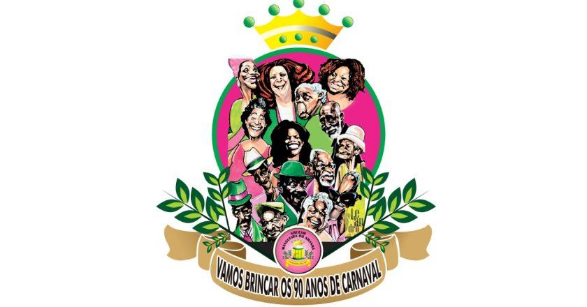 Logo da Mangueira do Amanhã 2019. Foto: Divulgação